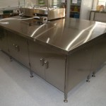 Stainless Steel Kitchen Island Bench