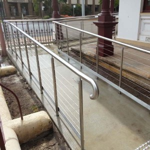 Ramp with Handrails & Balustrading